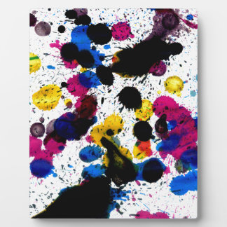 Colorful Paint Drips 7 Plaques