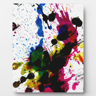 Colorful Paint Drips 8 Photo Plaques
