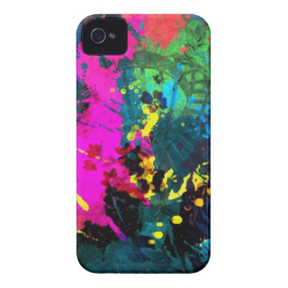 Colorful paint iPhone 4 cover