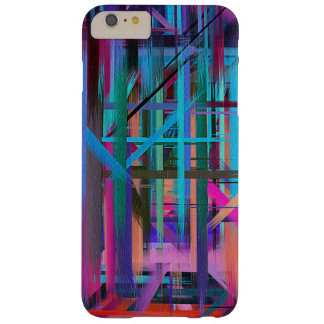 Colorful Paint Splatter Brush Stroke #10 Barely There iPhone 6 Plus Case