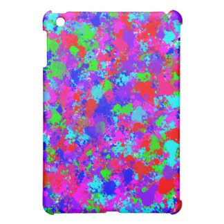 Colorful Paint Splatter Pattern iPad Speck Case Cover For The iPad Mini