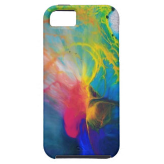 Colorful Paint Splatter Phone Case iPhone 5 Cases