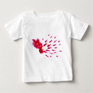 Colorful Paint Stroke pink Baby T-Shirt