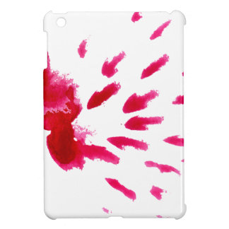 Colorful Paint Stroke pink iPad Mini Cover