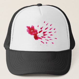 Colorful Paint Stroke pink Trucker Hat