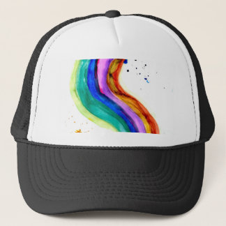 Colorful Paint Strokes 3 Trucker Hat