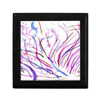 Colorful Paint Strokes 4 Gift Box
