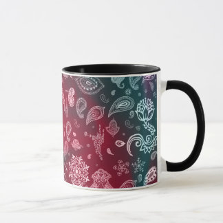 Colorful Paisley Mug