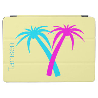 Colorful Palm Trees Custom iPad Air Cover