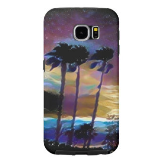 Colorful Palms Samsung Galaxy S6 Cases