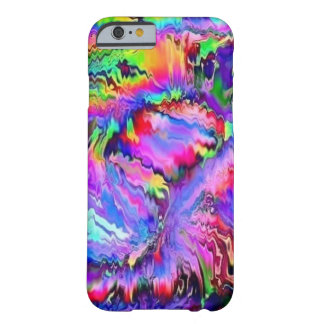 colorful palpitations barely there iPhone 6 case