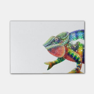 Colorful Panther Chameleon Post-it Notes