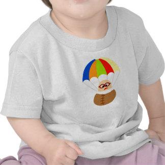 Colorful Parachute Kids T-shirt