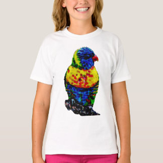 Colorful parrot bird T-Shirt