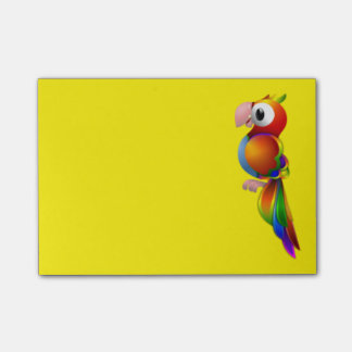 Colorful Parrot Post-it® Notes