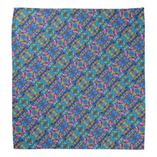 Colorful Pastel Patterned Bandana