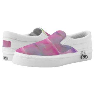Colorful Pastel Slip On Shoes