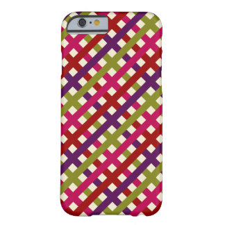Colorful Pattern Barely There iPhone 6 Case