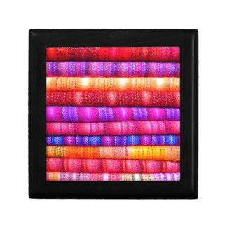 Colorful pattern gift box