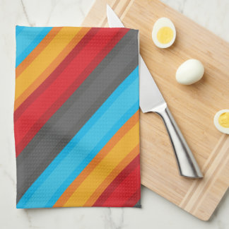 Colorful Pattern Hand Towels