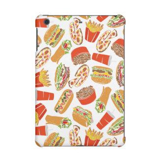Colorful Pattern Illustration Fast Food