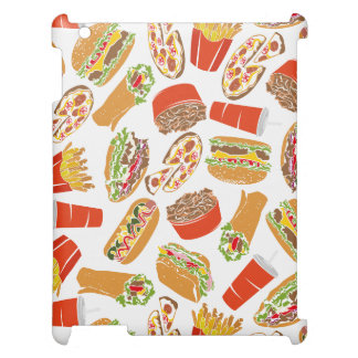 Colorful Pattern Illustration Fast Food Cover For The iPad 2 3 4