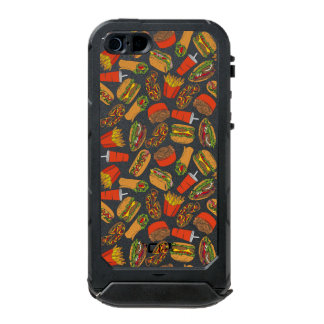 Colorful Pattern Illustration Fast Food Incipio ATLAS ID™ iPhone 5 Case