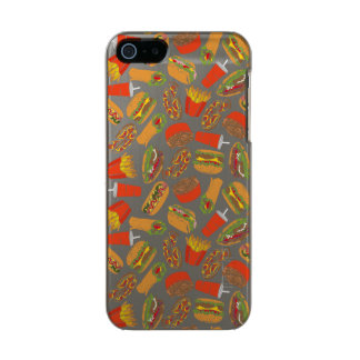 Colorful Pattern Illustration Fast Food Incipio Feather® Shine iPhone 5 Case