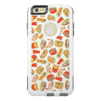 Colorful Pattern Illustration Fast Food OtterBox iPhone 6/6s Plus Case