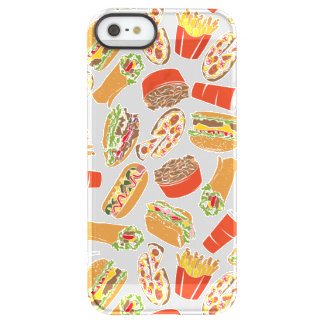 Colorful Pattern Illustration Fast Food Permafrost® iPhone SE/5/5s Case