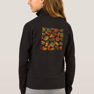 Colorful Pattern illustration nearly Food Jacket
