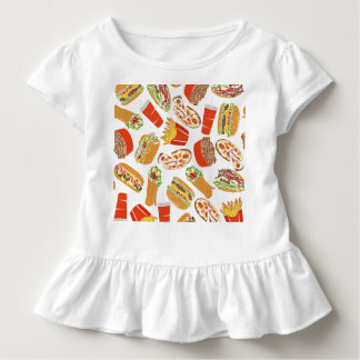 Colorful Pattern illustration nearly Food Toddler T-Shirt