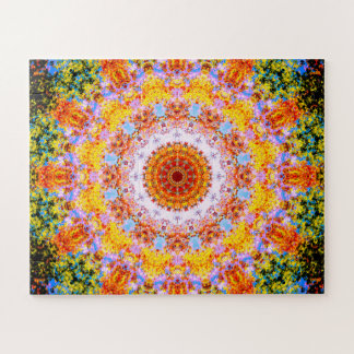 Colorful Pattern Jigsaw Puzzle