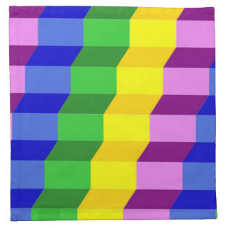 COLORFUL PATTERN PRINTED NAPKINS