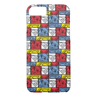 Colorful Pattern Shields iPhone 7 Case