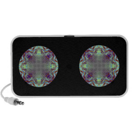 Colorful pattern. portable speaker