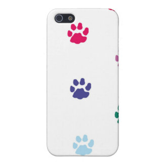 Colorful Paw Print iPhone Case iPhone 5/5S Cover
