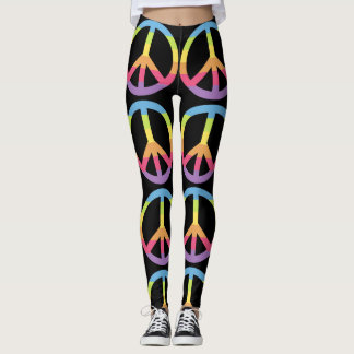 Colorful Peace Leggings