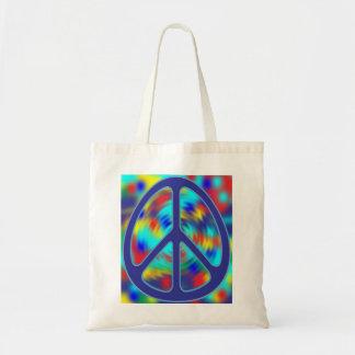 colorful peace sign design