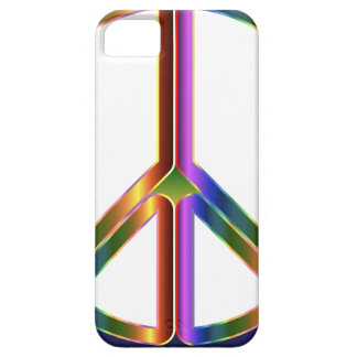 Colorful Peace Sign iPhone 5 Cases