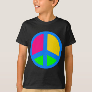Colorful Peace Sign T-Shirt