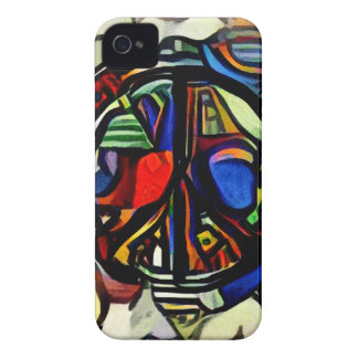 Colorful peace symbol iPhone 4 Case-Mate cases
