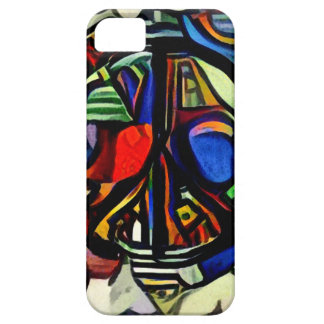 Colorful peace symbol iPhone 5 cover