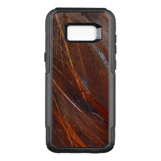 Colorful Peacock Feather in Detail OtterBox Commuter Samsung Galaxy S8+ Case