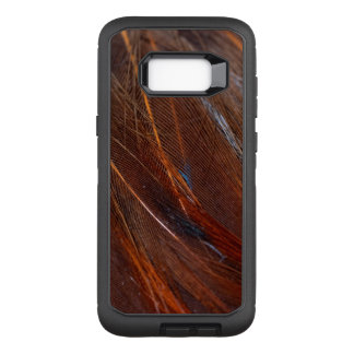 Colorful Peacock Feather in Detail OtterBox Defender Samsung Galaxy S8+ Case