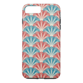 Colorful Peacock Feathers iPhone 7 Plus Case