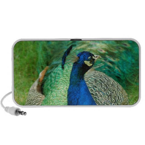 Colorful Peacock Portable Speakers