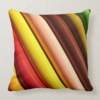 Colorful Pencils | Artsy Decorative Throw Pillow