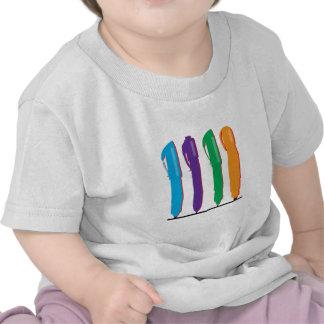 Colorful Pens T Shirt