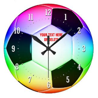 Football Wall Clocks Zazzle Com Au